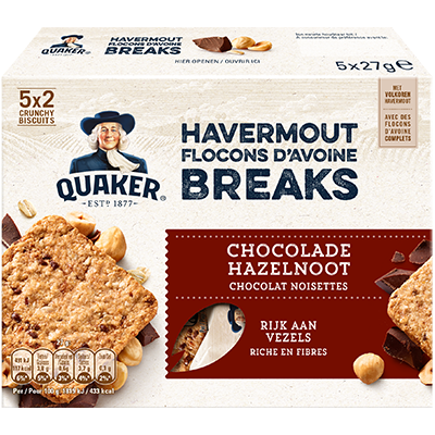 Packet of Breaks Chocolade & Hazelnoten